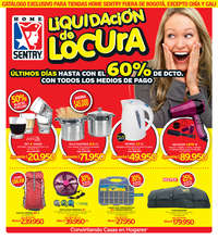 Liquidación de locura, últimos días - Fuera de Bogotá excepto Chía y Cali