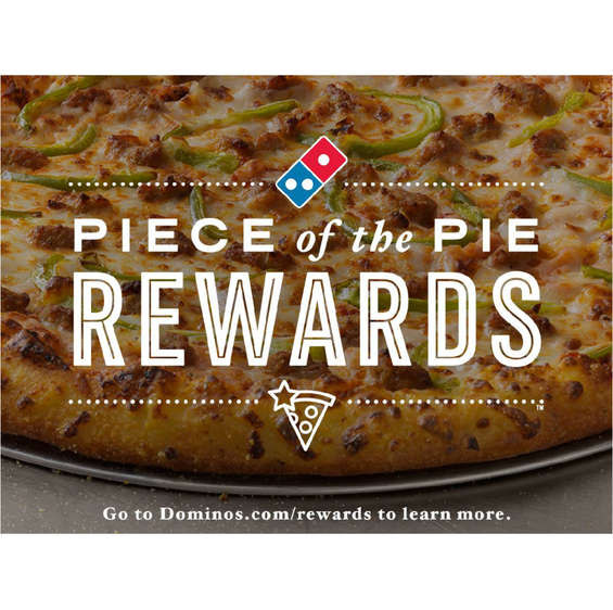 Ofertas de Domino's Pizza, Pizzas