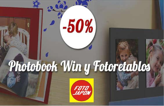 Ofertas de Foto Japón, Descuentos Photobook Win y Fotoretablos