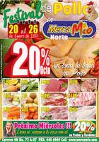 Ofertas de MercaMío, Festival del pollo en MercaMío - Norte