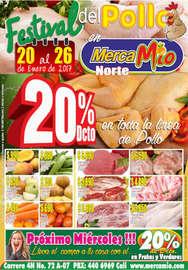 Festival del pollo en MercaMío - Norte