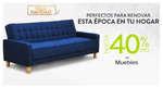 Ofertas de Falabella, Hasta 40% de descuento en muebles - Navidad