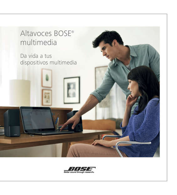 Ofertas de Bose, Bose / Altavoces