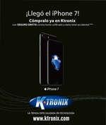 Ofertas de KTronix, Ktronix Medellin Septiembre  ¡Llegó el Iphone 7!