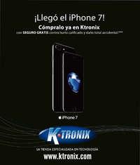 Ktronix Medellin Septiembre  ¡Llegó el Iphone 7!