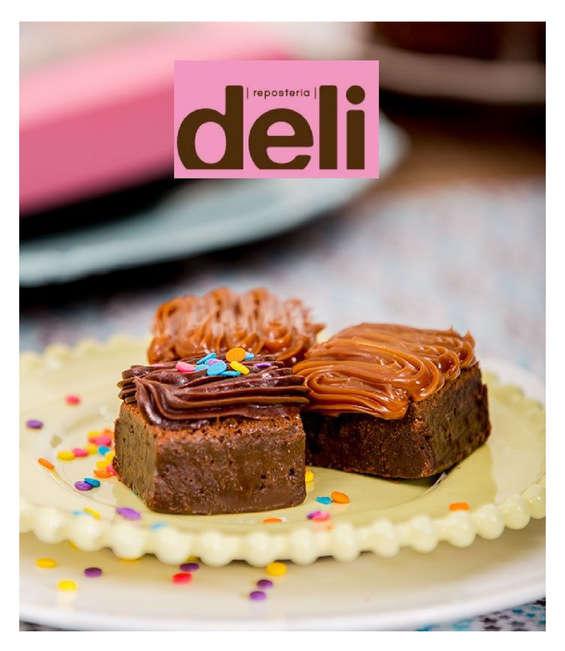 Ofertas de Repostería Deli, Brownies y galletas