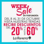 Ofertas de La Riviera, Week Sale en pefrumería