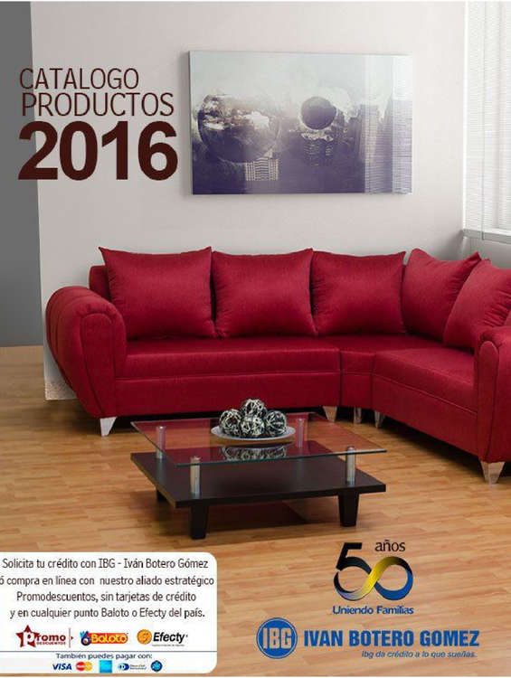 Ofertas de IBG, Catálogo Productos 2016