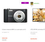 Ofertas de Sony, Hasta 40% de descuento en productos seleccionados