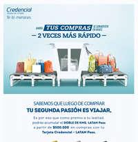 Credencial  tarjeta de crédito - Ahora tus compras se convierten en viajes