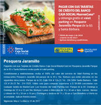 Valet parking gratis en Pesquera Jaramillo