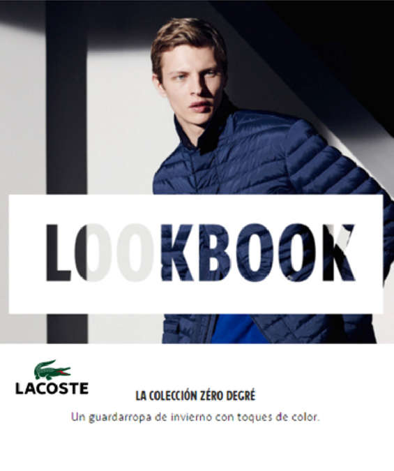 Ofertas de Lacoste, LookBook - La Colección Zéro Degré