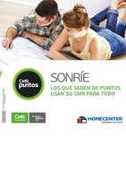Ofertas de Banco Falabella, Tácticos Catálogo Homecenter -  Vacaciones