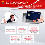 Ofertas de Davivienda, Tarjetas de marca compartida - Spring Step