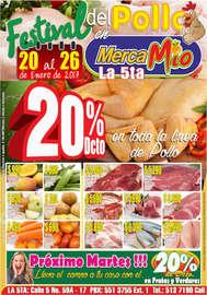 Festival del pollo en MercaMío - La 5ta