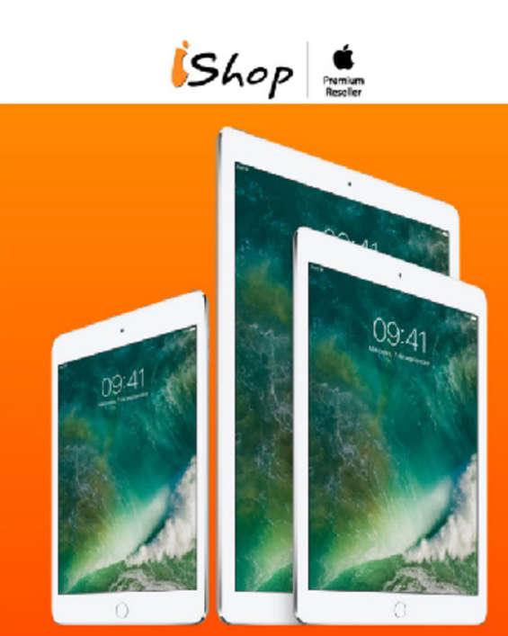 Ofertas de Ishop, Adquiere el iPad que deseas al mejor precio.