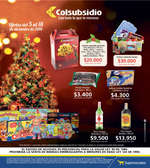 Ofertas de Supermercados Colsubsidio, Ofertas del 5 al 18 de Diciembre