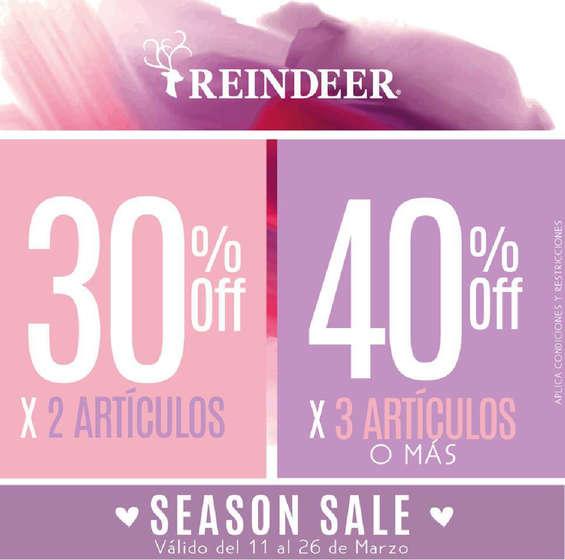Ofertas de Reindeer, Season Sale