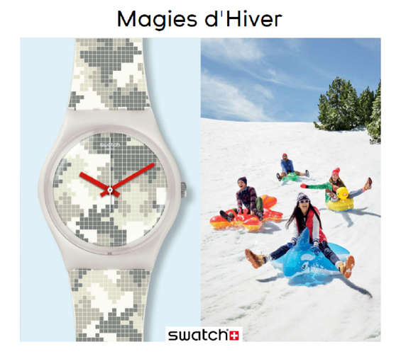 Ofertas de Swatch, I always want more - Magies d'Hiver