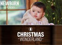 Newborn Girl - Christmas Wonderland