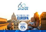 Ofertas de Aviatur, Destino del mes - Europa