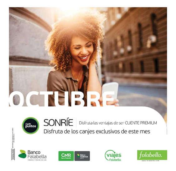Ofertas de Viajes Falabella, News Premium octubre