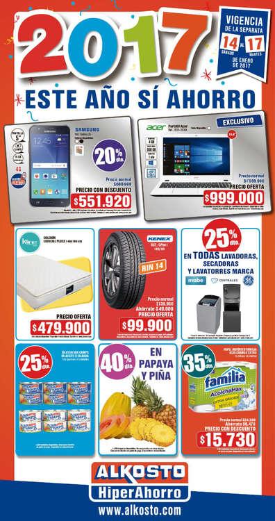 Ofertas de Alkosto, Catálogo Este año si ahorro