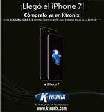 Ofertas de KTronix, Ktronix Bucaramanga Septiembre  - ¡Llegó el Iphone 7!