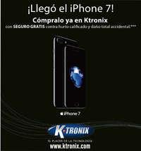 Ktronix Bucaramanga Septiembre  - ¡Llegó el Iphone 7!