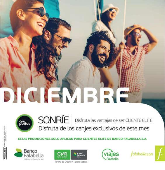 Ofertas de Viajes Falabella, News Elite - diciembre