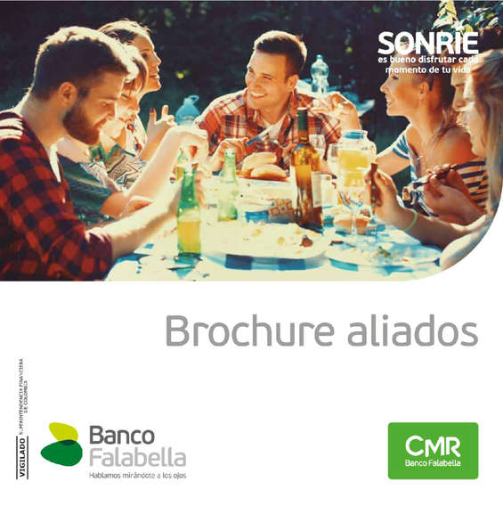 Ofertas de Banco Falabella, Brochure aliados