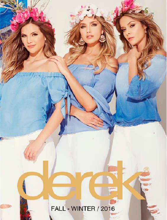 Ofertas de Derek, Derek Fall - Winter 2016
