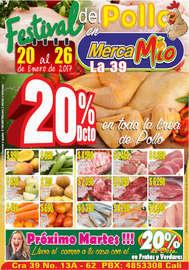 Festival del pollo en MercaMío - La 39