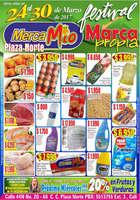 Ofertas de MercaMío, Festival marca propia - Plaza Norte