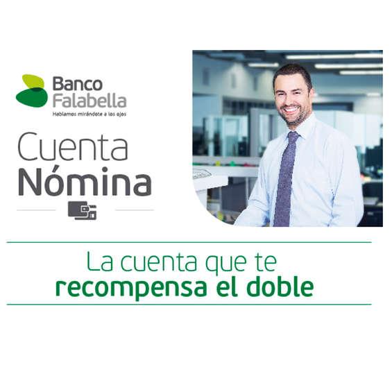Ofertas de Banco Falabella, cuenta nomina