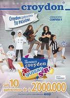 Ofertas de Croydon, Campaña 9 - Con colegiales Croydon ¡Yo quiero ser!