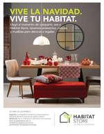 Ofertas de Habitat Store, Vive la navidad. Vive tu habitat