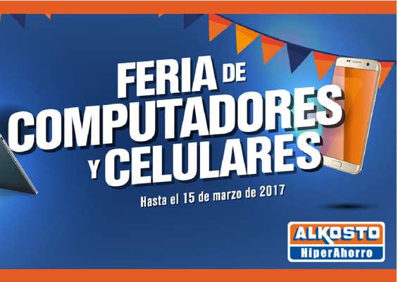 Ofertas de Alkosto, Feria de computadores y celulares