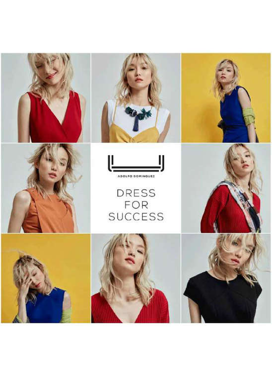 Ofertas de Adolfo Domìnguez, Dress for success