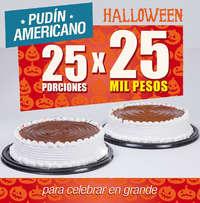 Pudín Americano - Halloween