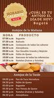 Ofertas de Pan Pa' Ya, Horario caliente - Bogotá