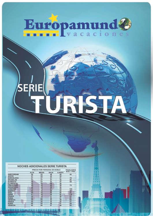 Ofertas de Europamundo, Serie Turista