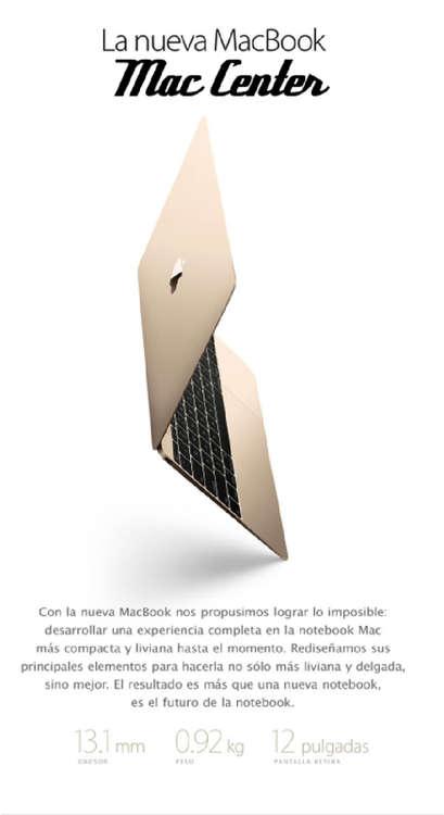 Ofertas de Mac Center, Nueva Macbook