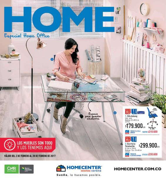Ofertas de HomeCenter, Catálogo Muebles - Home