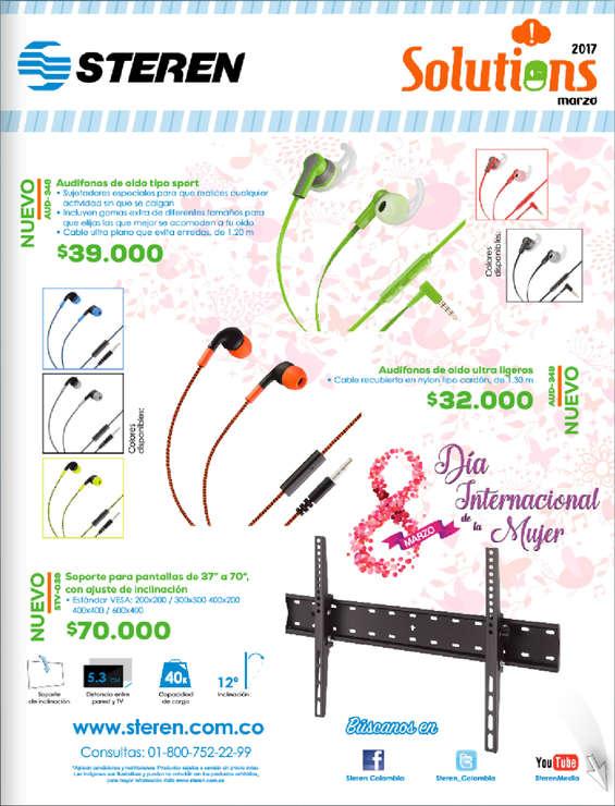 Ofertas de Steren, Catálogo de productos- Marzo de 2017