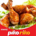 Ofertas de Piko Riko, Menú
