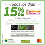 Ofertas de Dunkin' Donuts, 15% Dto.