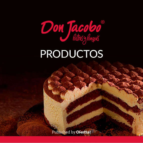 Ofertas de Don Jacobo, Don Jacobo productos
