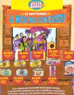 Ofertas de Mercadería Justo & Bueno, Catálogo - Le invitamos ¡a mercar con gusto!