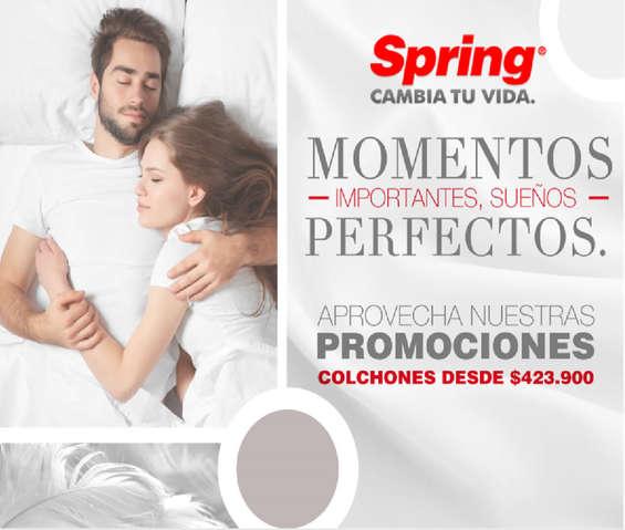 Ofertas de Colchones Spring, Promociones